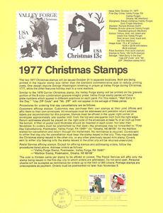 7717-13c-Christmas-Stamps-1729-30-Omaha-Souvenir-Page