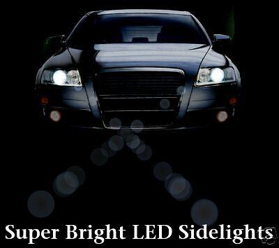 501 8 LED WHITE SIDELIGHT BULBS JAGUAR X S TYPE XJ XJR