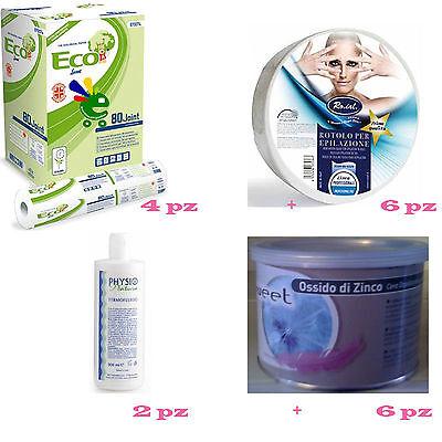 # Offerta kit estetica ( monouso, cera depilazione , olio post depilazione )