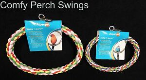 Bird Perch Parrot Perch by Fowl Play JW Aspen Booda Comfy Perch Small