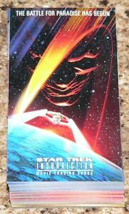 Star-Trek-Insurrection-72-card-complete-base-set-by-Skybox-in-1998