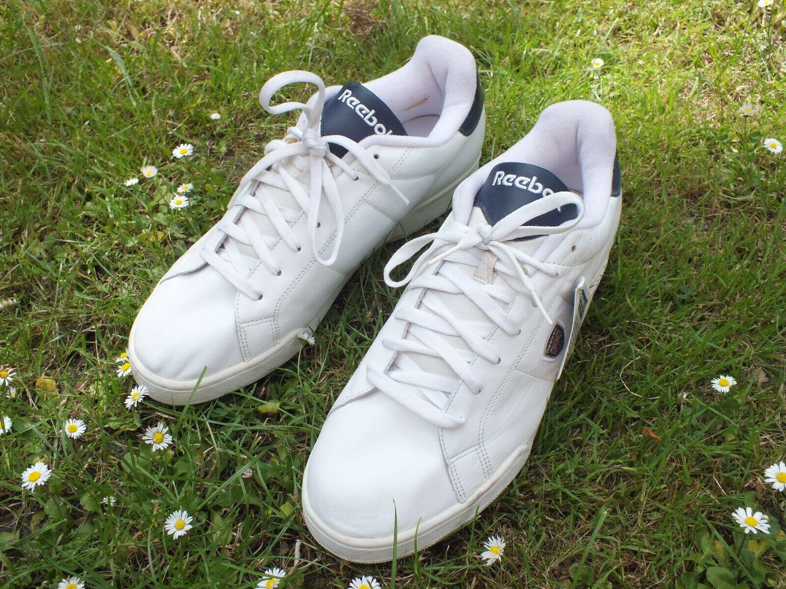 Nuevas Zapatillas Cuero Clásico REEBOK blancoo 1990s DEADSTOCK 1994 Indonesia