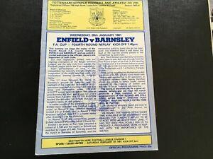 ENFIELD-V-BARNSLEY-FA-CUP-1980-81-PLAYED-AT-TOTTENHAM-HOTSPUR