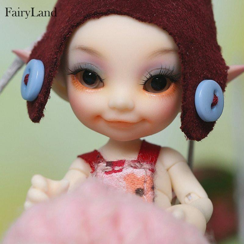 muñeca recast Fairyland FL Realpuki Toki 1/13 bjd sd resin luts cute tiny duend