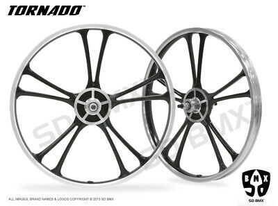 SDBMX BLIZZARD Aluminium Alloy Mag Wheels Dragster Bike Custom SkywayMotomag BMX