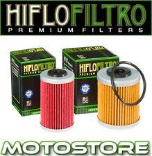 HIFLO 2 OIL FILTER SET FITS KTM 450 SX EXC MXC 2003-2006