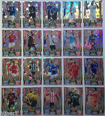 Match Attax TCG Choose One 2015//2016 Premier League Extra Magic Moments Card