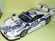 PORSCHE 911 GT1 LE MANS 1998 ANSON 1:18 Arrivée 2ème sans boite