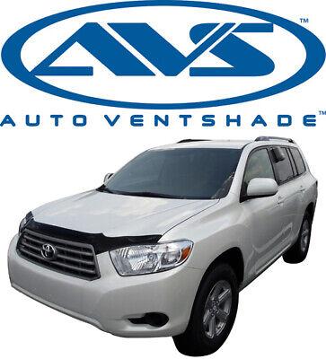 AVS Aeroskin Acrylic Smoke Hoodprotector for Toyota Highlander 2008-2010