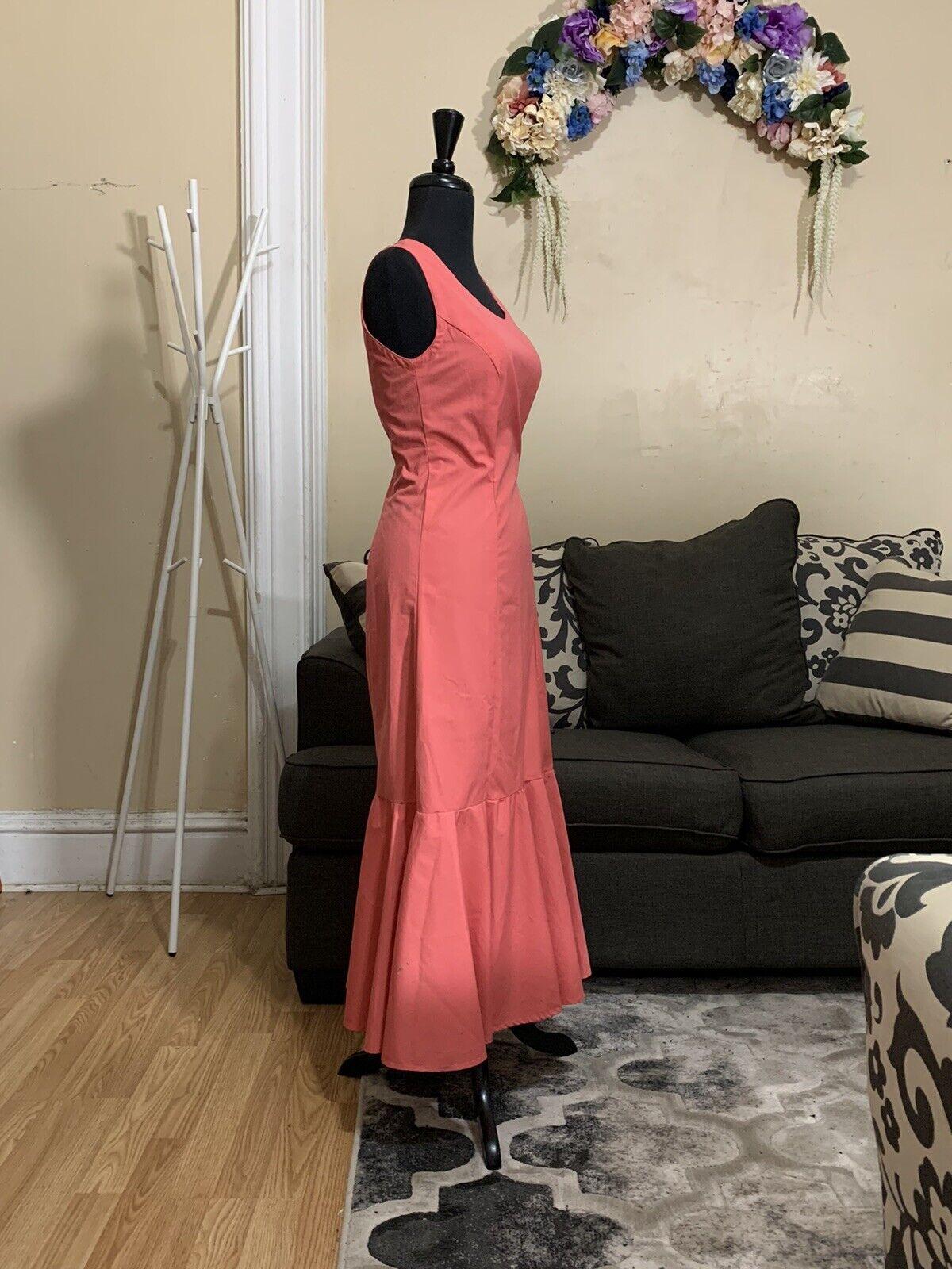 Mermaid Vintage Dress - image 3