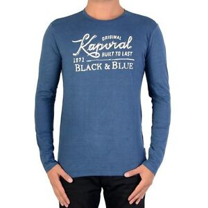 Tee shirt KAPORAL Homme manches longues LUPO