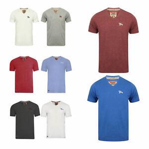 Camiseta-Para-Hombre-Tokyo-Laundry-039-esencial-039-Cuello-en-V-Algodon-Verano-Top-Plain-S-XXL