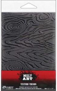 Ranger Melt Art Texture Treads Sheets Wood Grain UTEE Polymer Clay Beeswax