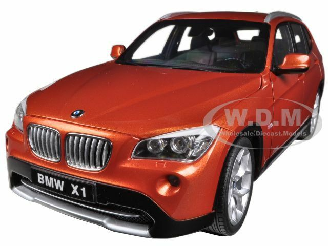BMW X1 xDRIVE 2.8i E84 VALENCIA Orange 1 18 DIECAST  MODEL voiture BY KYOSHO 08791 VP  promotions d'équipe