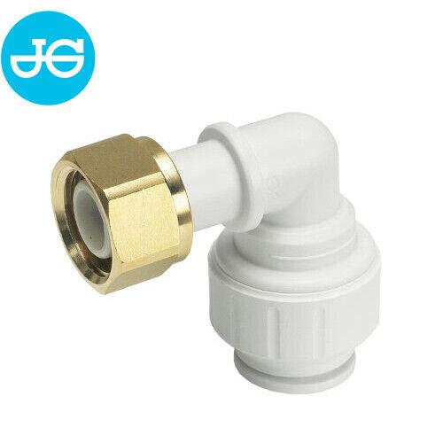 John Guest Winkel Aufschraubverbinder aus der PEM-Serie für Heizung /& Sanitär