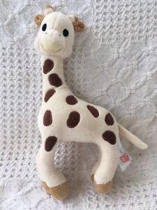 Vulli Sophie The Giraffe Baby Rattle Plush Stuffed Safari Zoo Animal