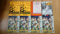 Huddersfield Rugby Union Programmes 1956 - 1999