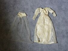 Vintage Barbie - Rare 1972 Satin n Shine Gown & Veil - TLC - #3493!!!