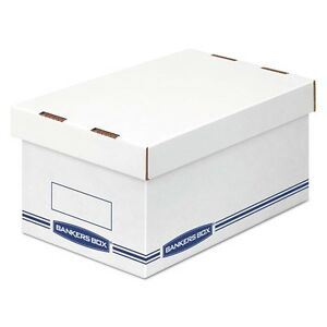 Bankers Box Organizer Storage Boxes - 4662201