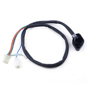 75.5cm Motorcycle Shift Gear Position Indicator Sensor Fit For Suzuki GN125 GS125 SV650 Black Total Length