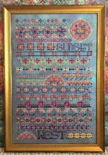 Your Choice Rosewood Manor Sampler//Stocking Cross Stitch Chart