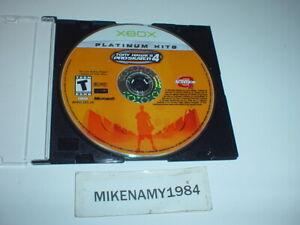TONY HAWK'S PRO SKATER 4 game only- Original MICROSOFT XBOX - Platinum Hits