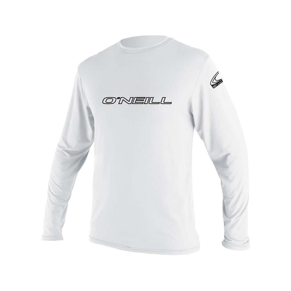 Oneill Grund- Häute Langärmlig Ausschlag T-Shirt Weiß Oneill Andere Sport Waren     | ein guter Ruf in der Welt  | Am praktischsten  | Erlesene Materialien