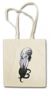 WANNABE CTHULHU STOFFTASCHE Horror Arkham H. P. Miskatonic Lovecraft Dunwich