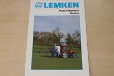 158104) Lemken Anbaufeldspritze EuroLux Prospekt 01/2007