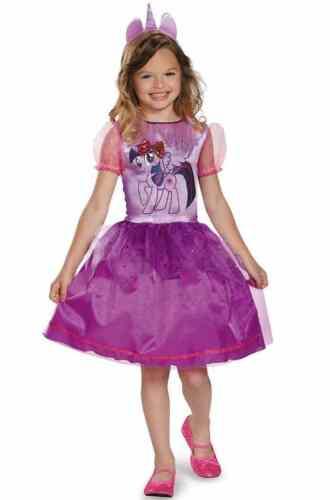 Twilight Sparkle Classic My Little Pony Fancy Dress Up Halloween Child Costume