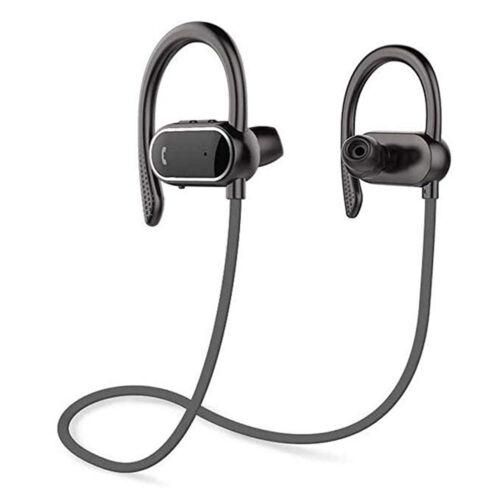 Bluetooth Sport Headphones Wireless SweatProof Headset HD Stereo for Gym Running