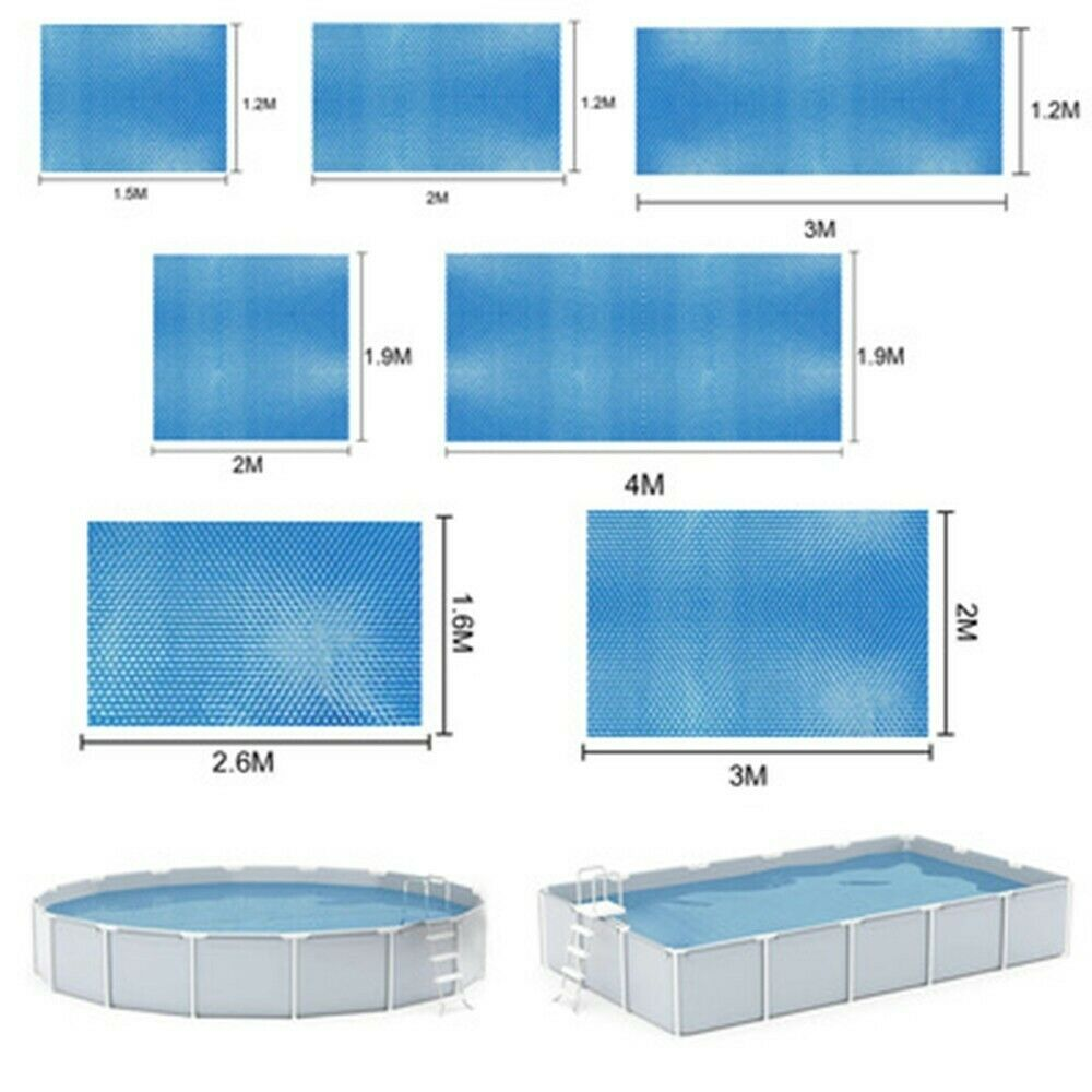 Swimming Pool Cover Protector Foot Above Ground Protection Tub Dust Bubble Films