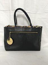 Kenzo black purse handbag faux leather