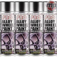 4 etech Pro aleación rueda renovar & actualizar pintura en aerosol-Metálico Gris Grafito