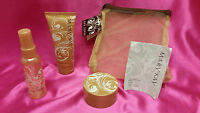 Mary Kay Frosted Vanilla Skin Care Gift Set W/body Mist, Butter, Wash & Bag