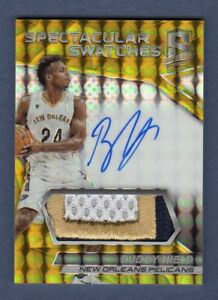 BUDDY-HIELD-2016-17-SPECTRA-GOLD-AUTOGRAPH-PATCH-AUTO-ROOKIE-RC-SP-10-KINGS