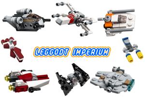 Lego-Star-Wars-mini-starships-Christmas-2020-razorcrest-falcon-xwing-FREE-POST