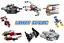 Lego-Star-Wars-mini-starships-Christmas-2020-razorcrest-falcon-xwing-FREE-POST miniature 1