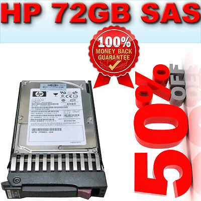 DG072A8B54-HP 72GB 10K SAS 2.5