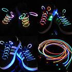 LED Shoelaces Shoe Laces Flash Light Up Glow Stick Strap Shoelaces Party Disco