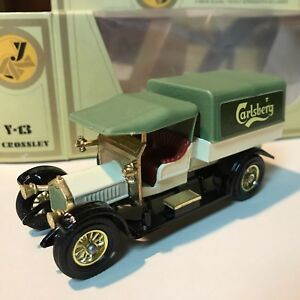 MATCHBOX-Lesney-Models-OF-YESTERYEAR-Y-13-1918-Crossley-Nuovo-di-zecca-con-scatola-NEW-OLD-STOCK