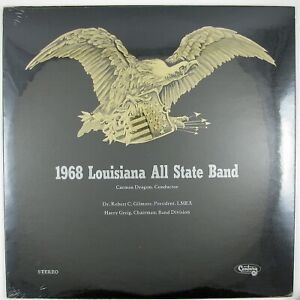 CARMEN-DRAGON-Conductor-1968-Louisiana-All-State-Band-LP-1968-SEALED-UNPLAYED