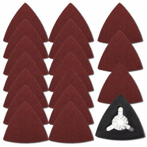 Neu Set Dreieck für Fein Disks Abrieb Pad Delta 61pcs Schleif Papier Bosch