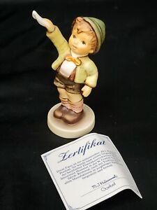 GOEBEL-Hummel-Figurine-034-COME-BACK-SOON-545-TMK7-MINT-w-Orig-Box