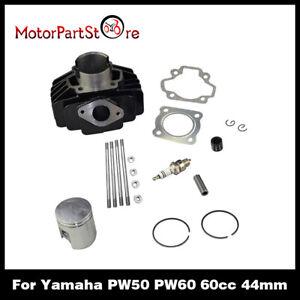 60cc Big Bore Kit cylindre piston phrase pour yamaha pw50 Kit NEUF