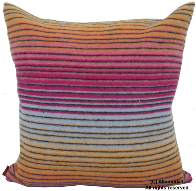 Missoni Home Dionisio T40 40 Lambswool 40 Cashmere Double Face 40 X Custom 16 X 20 Pillow Cover
