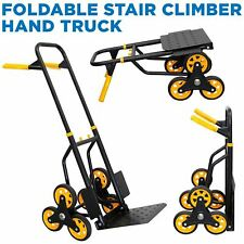 Mount It Stair Climber Hand Truck And Dolly 264 Lbs Capacity
