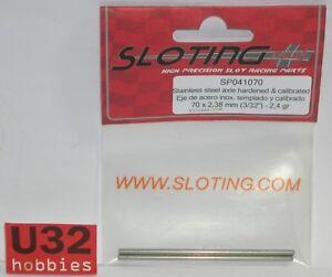 Elektrisches Spielzeug Reasonable Sloting Plus Sp041070 Achse 70mm 2.4gr Spielzeug Stahl Edelstahl Kalibrierung 2.38mm