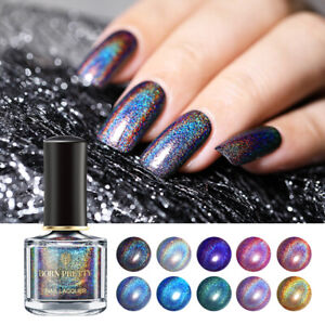 6ml-BORN-PRETTY-Deluxe-Holographicss-Nail-Polish-Glitter-Nail-Art-Varnish-Decor