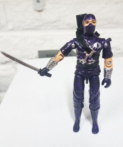 Nouveau G.I Joe Black Major Custom Indigo Ninja Viper avec accessoires
